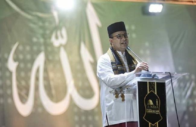 Anies Baswedan Imbau Umat Islam Petik Hikmah Perjalanan Isra Mi'raj