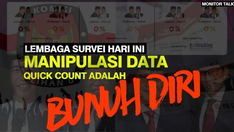 Quick Count Pilpres 2019, Layak Kah Dipercaya? (ft. Arus Survei Indonesia)