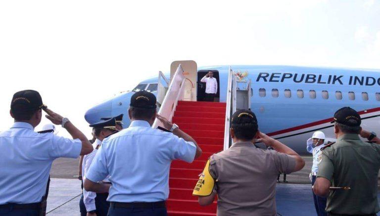 Seriusi Pemindahan Ibu Kota, Jokowi Bertolak ke Kalimantan