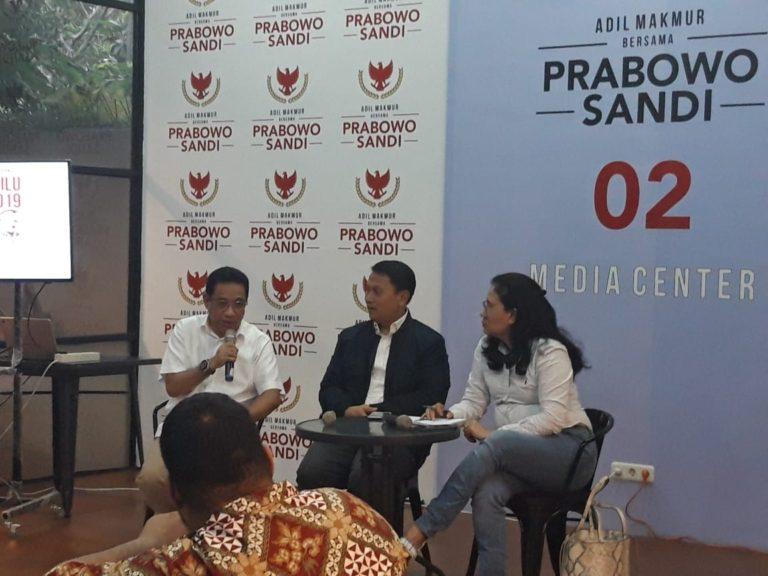 Koalisi Prabowo-Sandi Terus Dorong Pembentukan Pansus Tragedi Kemanusiaan