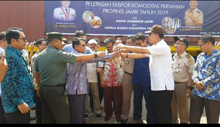Kementan Lepas Ekspor Ratusan Ribu Ton Biji Pinang asal Jambi