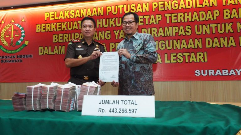 LPDB Apresiasi Upaya Kejari Surabaya Tangani Kerugian Negara, ini Harapannya