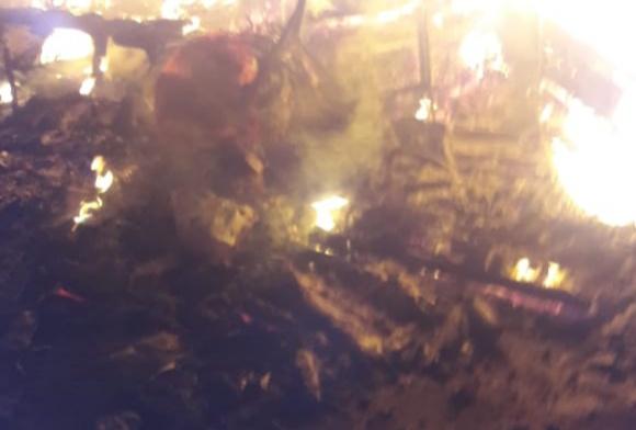 Motor Jurnalis Net TV Turut Dibakar oleh Massa Aksi 22 Mei di Bawaslu