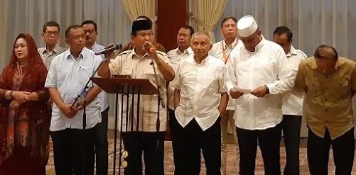 Kritik Pernyataan Hendropriyono, Prabowo Yakini Sebagai Sebuah Kekhilafan