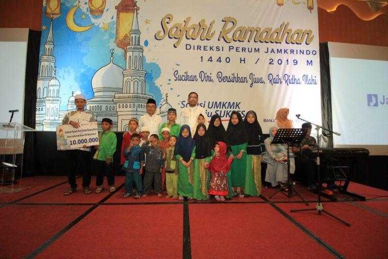Safari Ramadan di Banjarmasin, Jamkrindo Santuni Anak Yatim