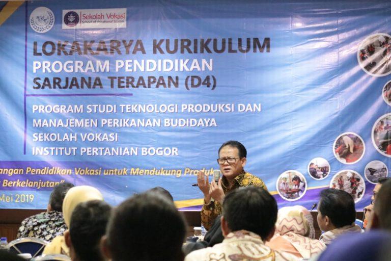 Guru Besar IPB Dorong Kurikulum Pendidikan Vokasi Akuakultur