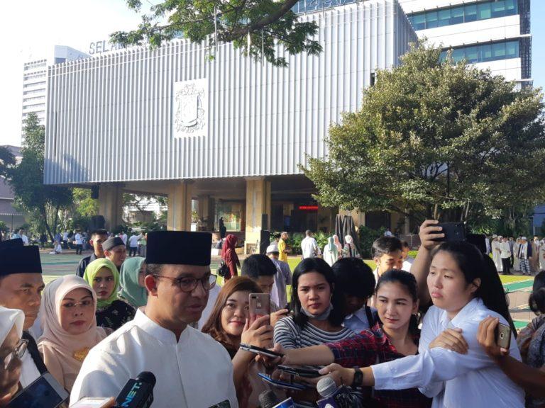 Anies sampaikan Permohonan Maaf ke Warga Jakarta
