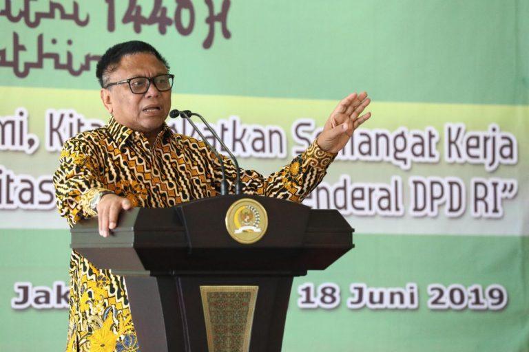Begini Cara Ketua DPD RI Agar Sukses Dalam Berorganisasi