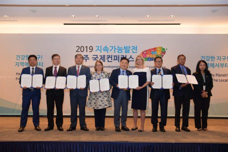 Di Korea Selatan, Rokhmin Dahuri Paparkan Konsep Pancasila sebagai Acuan Pembangunan Berkelanjutan