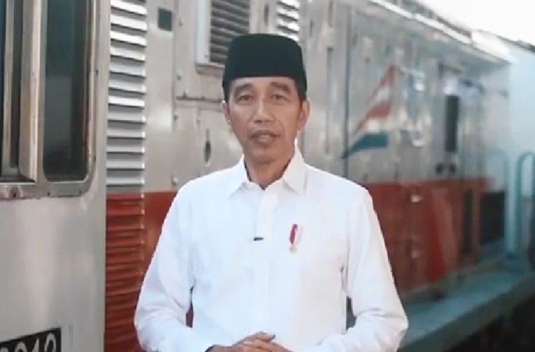 Jokowi: Jadikan Idul Fitri Ajang Pererat Tali Persaudaraan