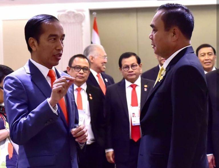 Bertemu di KTT ASEAN, Jokowi dan PM Thailand Sepakati ini