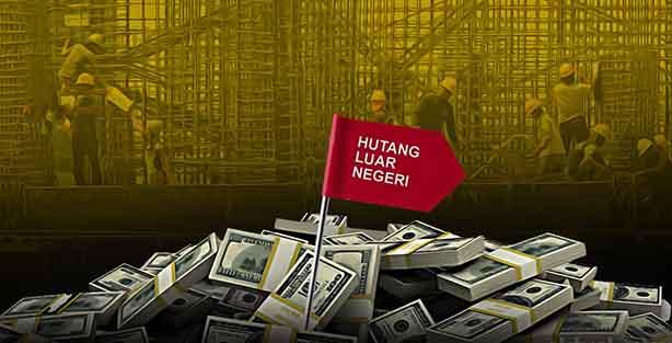 Naik, Utang Luar Negeri Indonesia kini Tembus 5.533 Triliun Rupiah