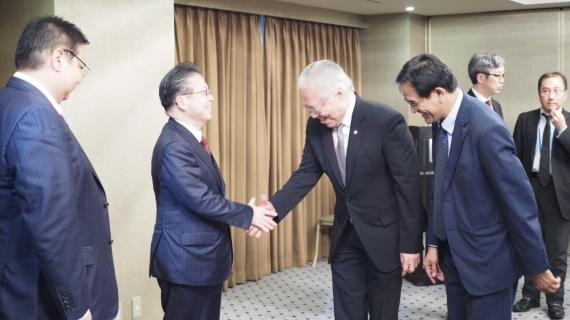 Pertemuan Bilateral Indonesia-Jepang: Bahas Penyelesaian General Review IJEPA