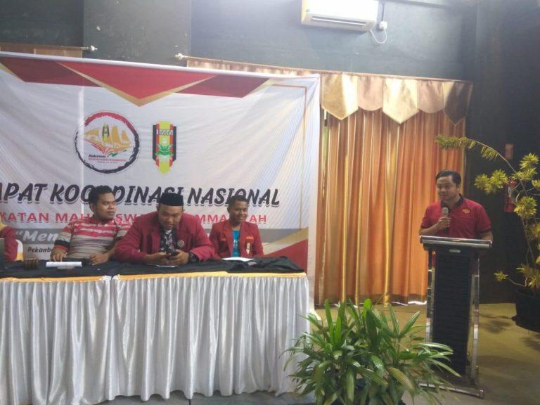 Rakornas IMM di Riau, ini Empat Rekomendasi IMM DKI