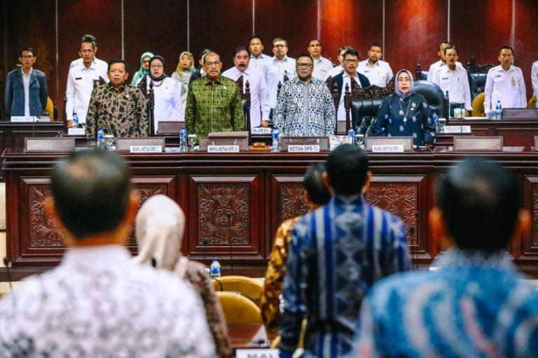Kawal Akhir Masa Bakti, DPD Terima Laporan Perkembangan Hasil Setiap Komite