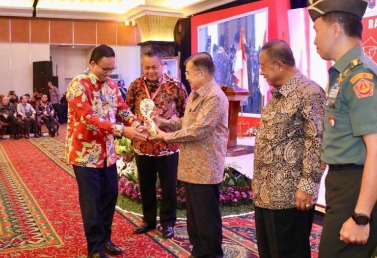 Sukses Kendalikan Inflasi, Pemprov DKI Sabet Lagi Penghargaan