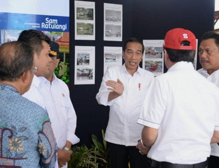 Tiba di Manado, Jokowi Dapat Laporan Jumlah Turis Asing Membeludak