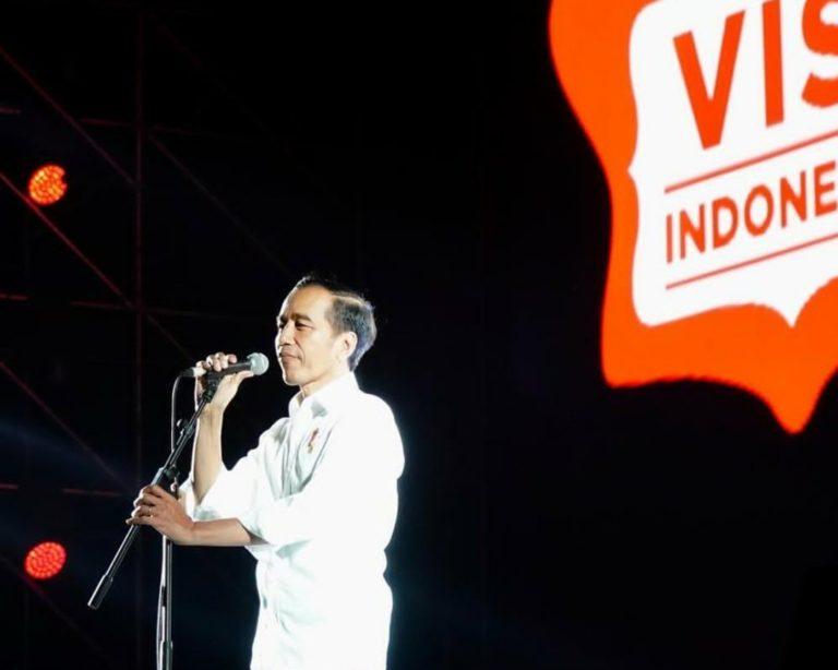 Paparkan Visi Indonesia Kedepan, ini Pidato Lengkap Jokowi di Sentul