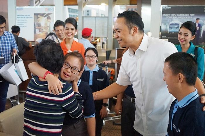 Garuda Indonesia Dorong  Kemandirian Penyandang Down Syndrome