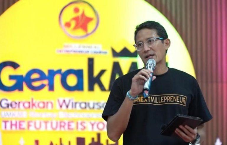 Sandiga Uno Dorong Milenial Ciptakan Lapangan Kerja