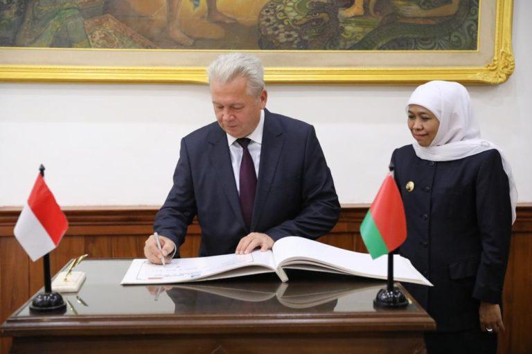 Khofifah Buka Peluang Kerjasama Pengolahan Hasil Laut dengan Belarus