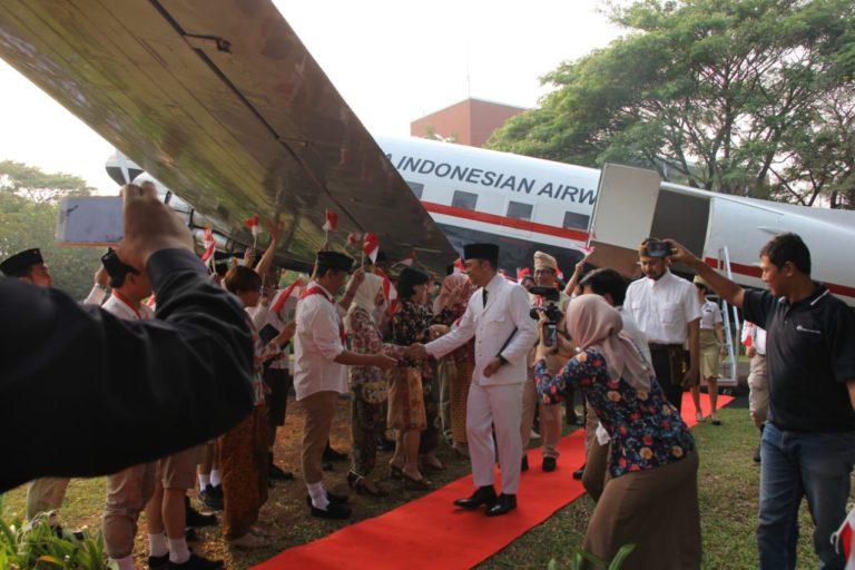 Garuda Indonesia Napaktilas Nuansa Kemerdekaan Tempo Dulu