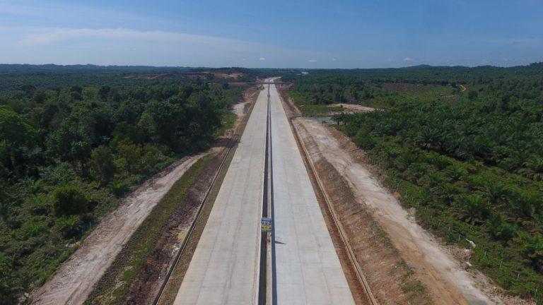 Kontruksi Hampir Rampung, Tol Balikpapan-Samarinda Operasi Akhir Tahun 2019