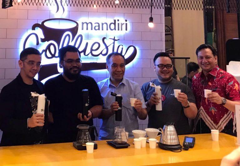 Bank Mandiri Perkuat Transaksi Elektronik Lewat Jakarta Coffee Week