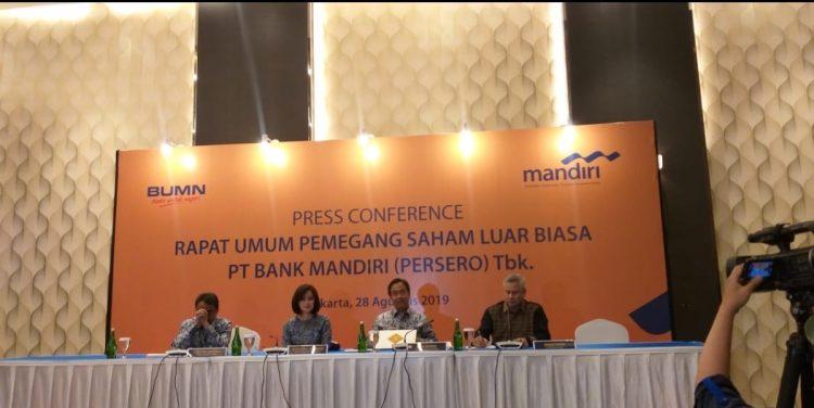 Gelar RUPSLB, Bank Mandiri Tunjuk Rionald Silaban Sebagai Komisaris Perseroan