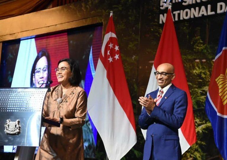 Sri Mulyani Akui Singapura jadi Mitra Investor Terkuat RI