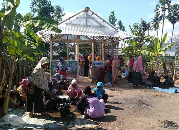 Program KRPL Kementan Sasar Kabupaten Bima, Penyuluh Terjun Bina Kelompok Wanita Tani