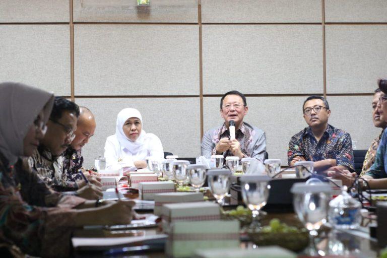 Kunjungi JIIPE, Khofifah Berharap Bisa Serap Tenaga Kerja Terampil
