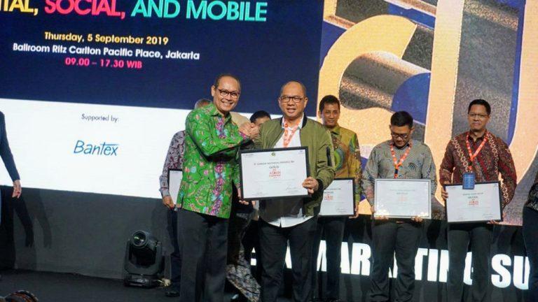 Garuda Indonesia Raih Penghargaan 'Gold-Indonesia Go ASEAN Champion'