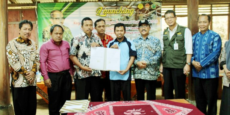 Launching Kegiatan Korporasi Usahatani di Yogyakarta