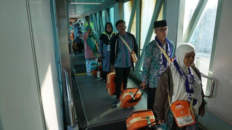 Garuda Indonesia Selesaikan Penerbangan Haji dengan OTP 89 Persen