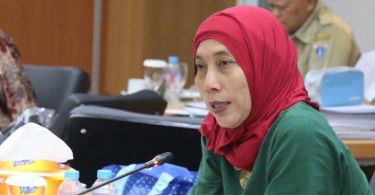 """Disebut Calon """"Kuda Hitam"""" Ketua DPRD DKI, Ini Reaksi Ida Mahmuda"""