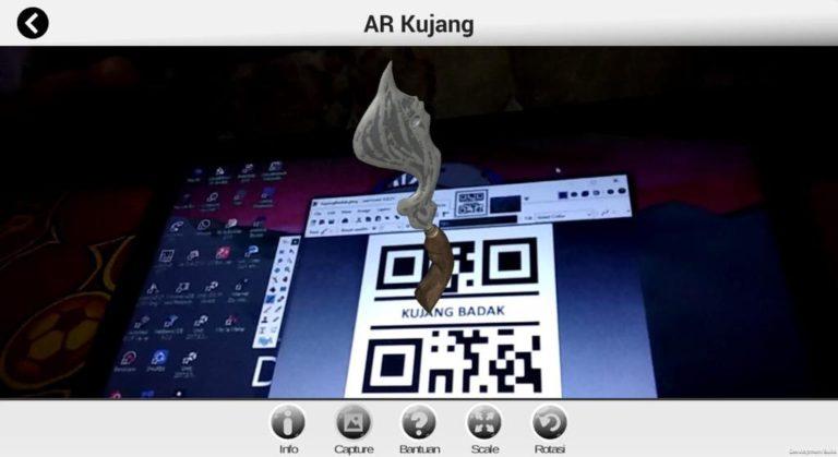 Penguatan Kearifan Lokal 'Kujang' melalui Teknologi Augmented Reality
