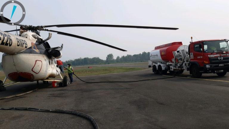 Dukung BNPB Tangani Karhutla, Pertamina Kerahkan Refuller Avtur