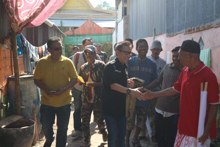 Serap Aspirasi Warga, UQ Sukriansyah Blusukan di Pulau Kodingareng