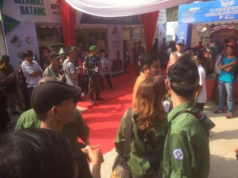 Puluhan Jurnalis Boikot Peliputan TTG Nasional XXI 2019