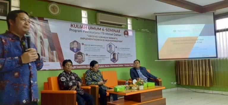Kembangkan Lembaga Wakaf, ITB-AD Siap jadi Pusat Pengembangan Wakaf Muhammadiyah