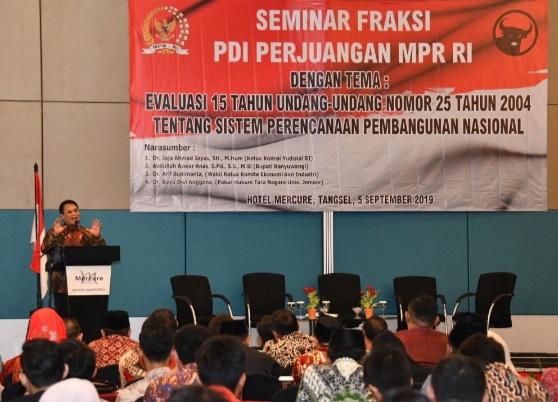 UU SPPN Lemah, Ahmad Basarah: Haluan Negara Menyempurnakan Ketatanegaraan Indonesia