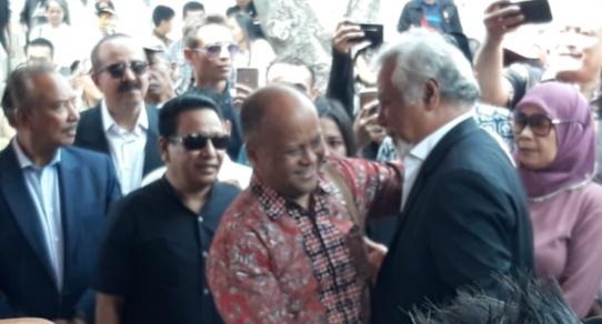 Presiden dan Mahasiwa Timor Leste Ziarahi Makam BJ Habibie