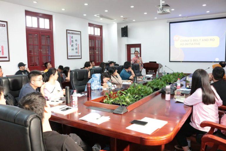 Bicara di Xiamen University, Rokhmin Dahuri Paparkan Jalur Sutra China di Indonesia