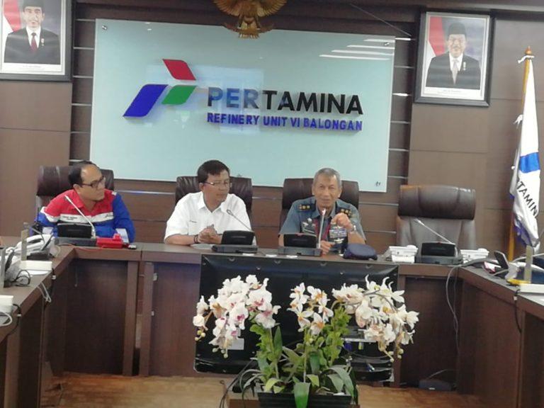 Pushidrosal TNI AL dan Pertamina Tingkatkan Kerjasama Petakan Pelabuhan dan Perairan Balongan Jabar