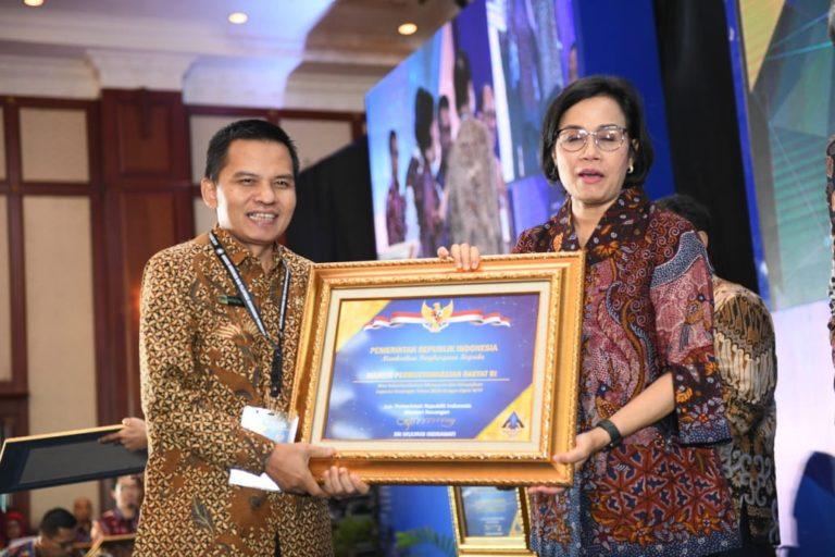 MPR Sabet Dua Penghargaan dari Kementerian Keuangan