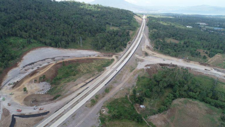 PT JMB Optimis Kontruksi Jalan Tol Manado Bitung Rampung Juli 2020