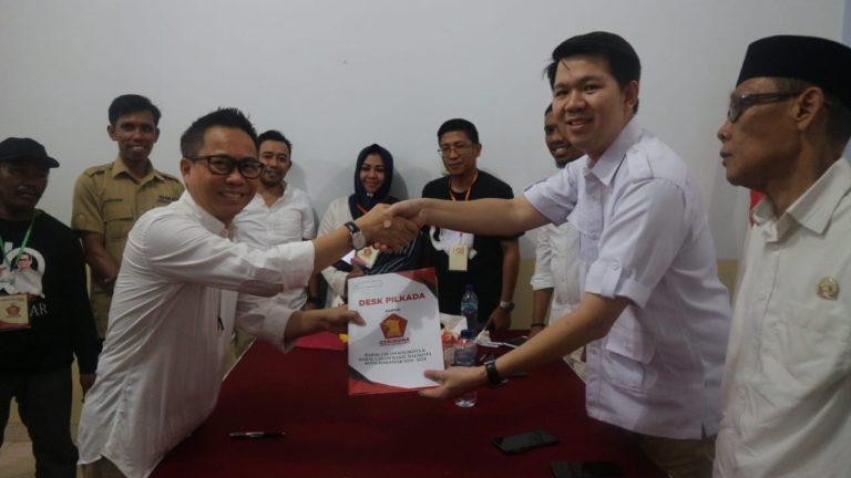 Pilwali Makassar, UQ Sukriansyah Resmi Mendaftar di Partai Gerindra