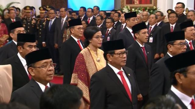 Khofifah Bangga Tujuh Menteri Kabinet Indonesia Maju Berasal dari Jatim