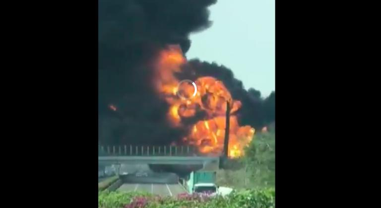 Pipa Terbakar, Pertamina Pastikan Tidak Ada Aktivitas Perusahaan di TKP